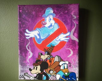 Disney Lonesome Ghosts Canvas Painting