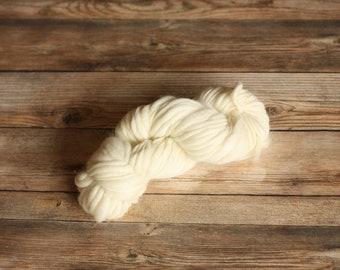 Yarn Destash ~ Handspun Cream Yarn