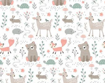 Little Ones Forest Fabric - By the Yard
