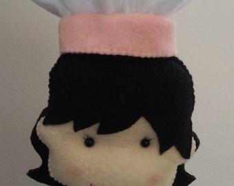 Confectionery Doll - Felt - Estrelarte