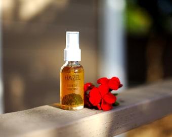 HAZEL | All Natural Facial Mist | Green Tea Mist | Moisturizer | Vitamin E | Facial Toner | Facial Mist | Hydrating | Skin Care