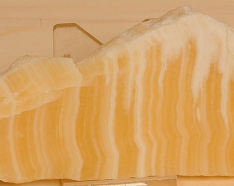 Beautiful Yellow Honey Onyx Calcite Slab