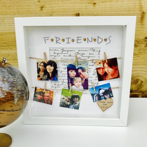 Friends Frame Special Best Friends Gift Personalised Friends