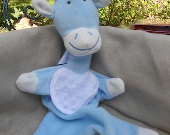 DMC Blue Giraffe Plushie