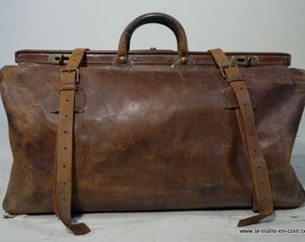 R1807 large leather doctor bag