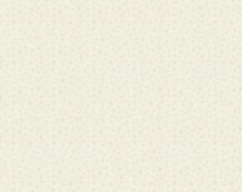 Ivory Star Fabric - Riley Blake Fabric