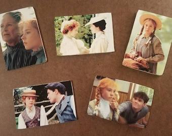 Anne of Green Gables Wooden Fridge Magnet 2x3   Series 2