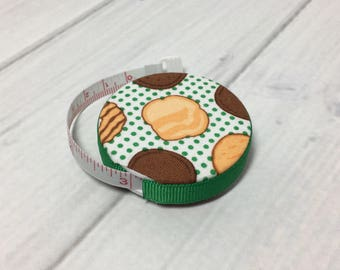 Girl Scout Cookies Fabric Covered Retractable Tape Measure
