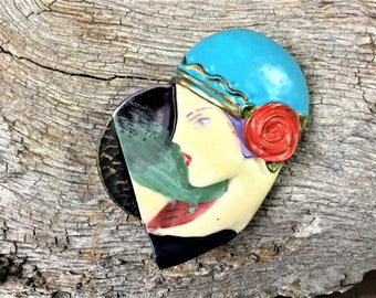 Vintage Art Deco Pin