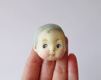 Sammy Snooks  - Paperclay Antique Doll Pin