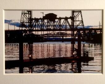 Sunset Over The Steel Bridge