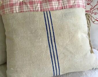 Antique Grainsack Pillow