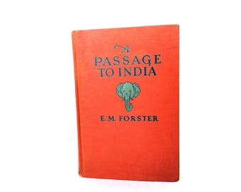 A Passage to India by E. M. Forster. Grosset & Dunlap 1924.E. M. Forster.Book.A Passage to India.George Baty Blake.Francis Stanton Blake