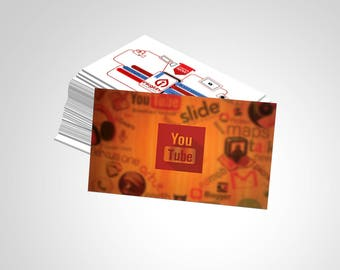 BUSINESS CARD ((SBC-107) Template)