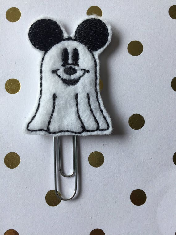 Mouse Ghost planner Clip/Planner Clip/Bookmark. Character Planner Clip. Mouse Planner Clip. Boy Mouse Planner clip. Halloween Planner clip