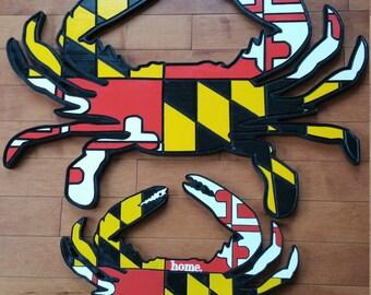 Maryland Crab Sign