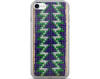 Haudenosaunee Native American Beadwork Art iPhone 7/7 Plus Case