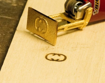 1 2 Inches Branding Iron Woodburning Stamp Wood Leather