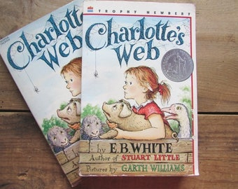 Charlotte's Web Paperback E B White ONE Copy Young Adult Fiction