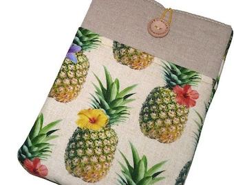 "Macbook 15 sleeve, 15 inch Macbook case, 15.6"" inch Laptop case,  lenovo yoga 3 Sleeve, 15"" macbook pro retina cover - pineapple"