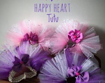 Happy Heart small or mini pet tutu