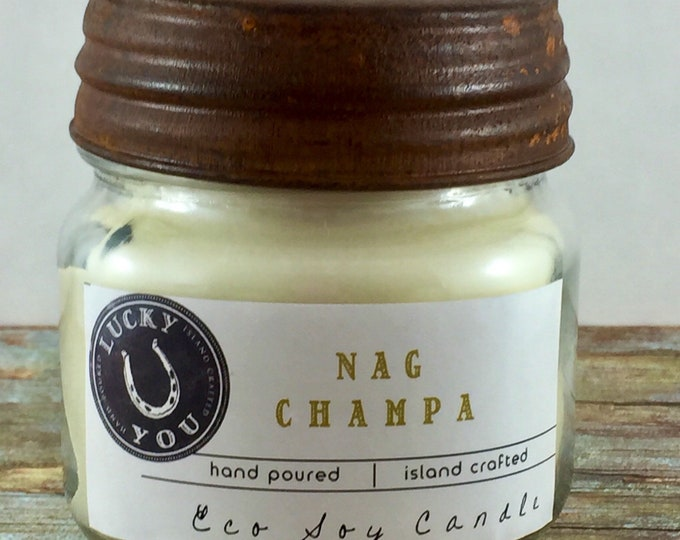 Featured listing image: Nag Champa Eco Soy Candle