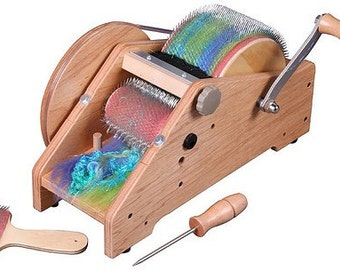 Ashford Wild Drum Carder Free Shipping With Extras Like Some Great Fiber