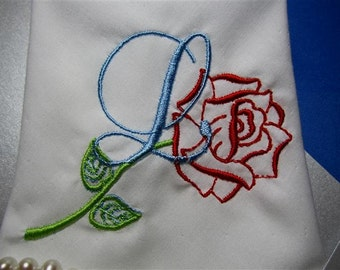 Pocket Hankies Bridal Party Gifts Keepsake Hankies with gift box as unique as your Wedding Day, monogramming & ornate frame