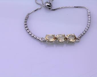 Citrine Bracelet. Listing 597455811