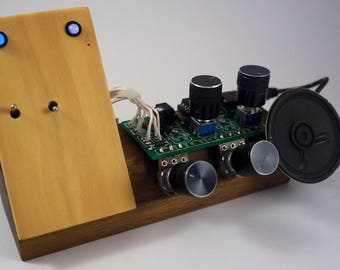 Crownotron MkII - handmade electronic musical instrument