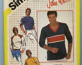 Simplicity Pattern 9993 - Men's pullover shirt