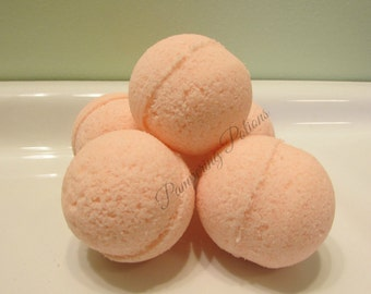 Mini Bath Bomb, Set of Manicure or Pedicure size Soaking Tabs, Spa Party Take Home Token, Perfect for Nurses Feet, Kid Friendly Bath Balls