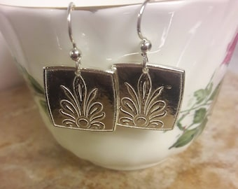 "Fine Silver Earrings ""Paradise"""