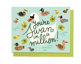 Swan in a Million Card
