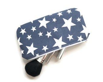 Bridesmaids gifts Birthday gift Make up bag Gift for Stars Pencil case Makeup bag Gifts for her Gifts for mom Bridesmaid gift Coworker gifts