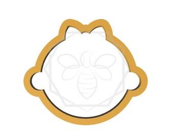 Jillbeesz Baby Girl Face Cookie Cutter