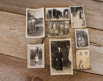 Antique Photograph Collection--Family & Friends