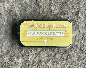Wild Orange Lip Butter   .25 oz. slider tin   Lip Balm