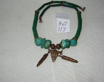 Ant #117 Alaskan Eskimo ??  Native American Necklace