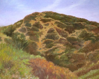 California Art Print, California Landscape Art, California Wall Art, Landscape Print, California Wall Decor from Oil Painting by P. Tarl