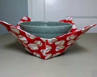 Baseball Microwave Bowl Cozy