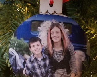 Wood Christmas Ornament, Wood Christmas, Christmas Ornament, Wood Ornament, Rustic Ornament, Personalized Ornament, Rustic Christmas, Custom