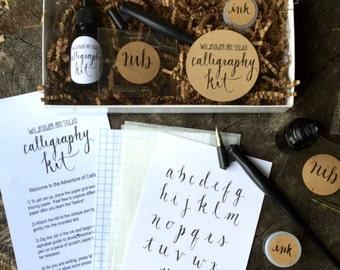Calligraphy Starter Kit - Beginner Calligraphy Lettering Set