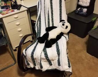 Passion Striped Afghan