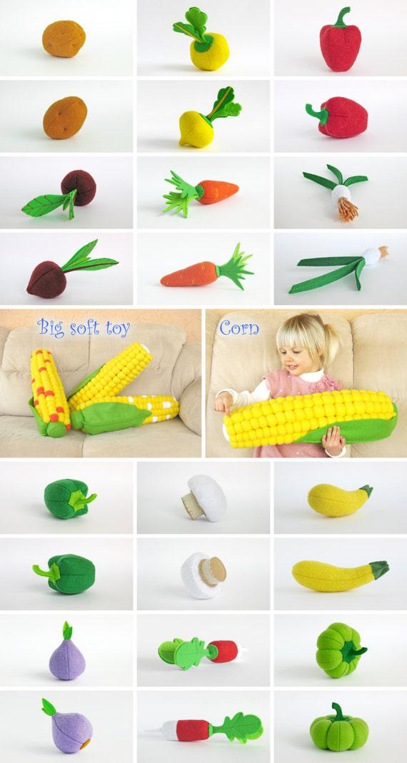 Spielen Sie Essen Auberginen-Geschenk für Kinder Zimmer Dekor