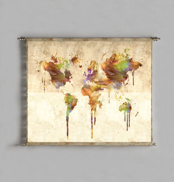 World map tapestry wall hanging world map canvas world map world map tapestry wall hanging world map canvas world map wall art world map poster world map painting large art canvas art abstract art gumiabroncs Gallery