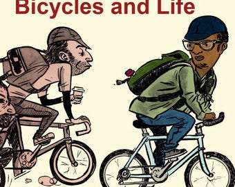 More Comics About Cycling and Life