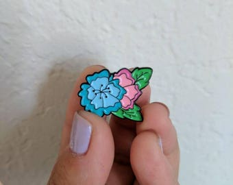 Flower Duo - Enamel Pin
