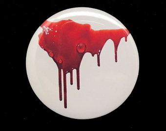 Gash Blood Drip Pin