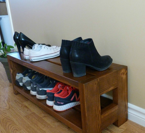 Entryway Rustic Shoe Rack Shoe Storage Shoe Organizer Shoe